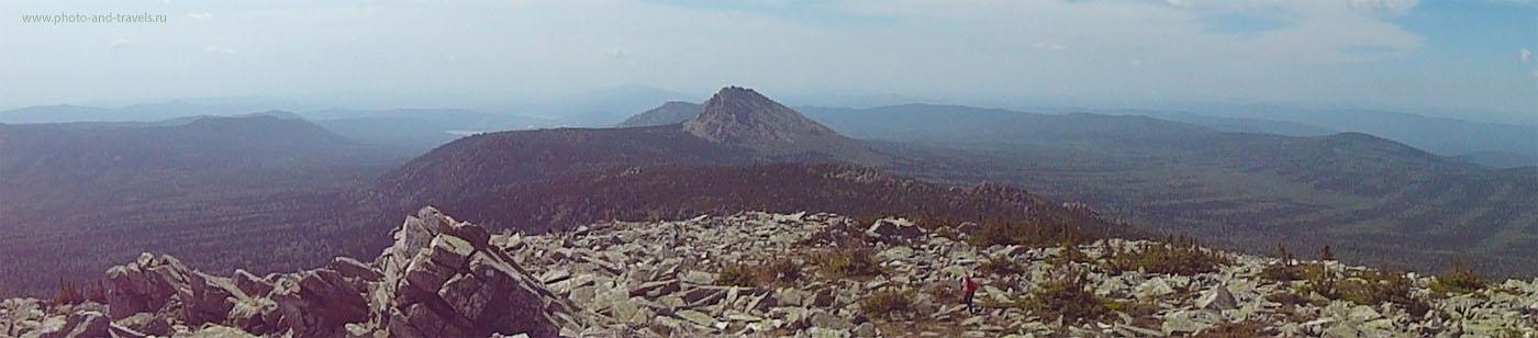 15. Национальный парк Таганай. Вид на Откликной гребень с вершины Круглицы. Эх, снять бы это фото на рассвете...