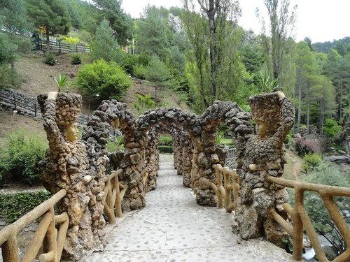 арки в садах Артигас