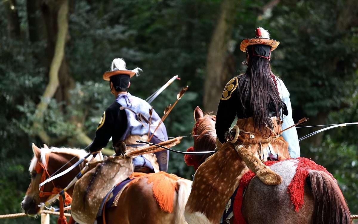 Стреляем из лука на полном скаку: Потомки японских самураев (25)