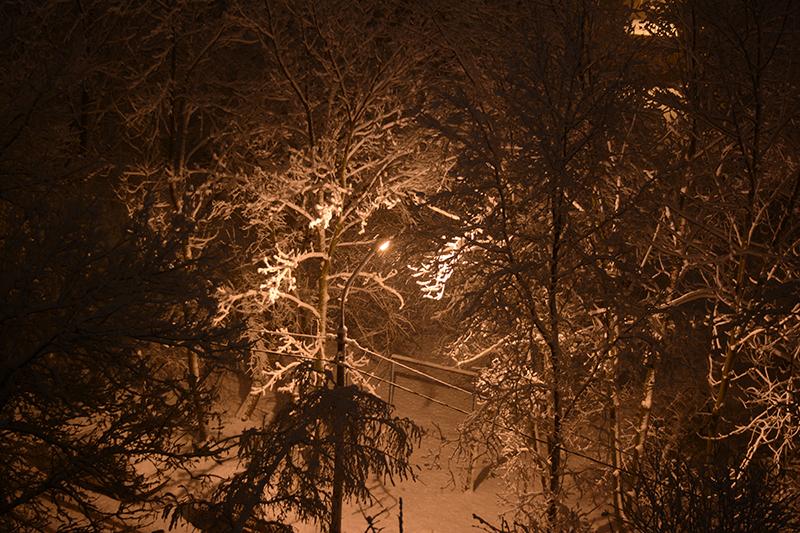 опять зима
