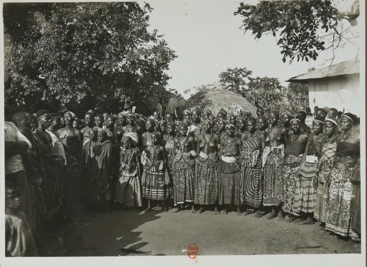 Жители селения