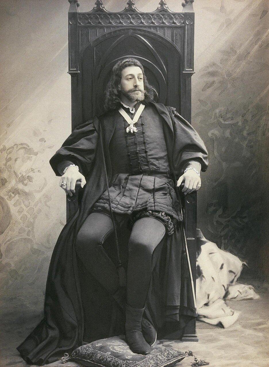Великий князь Константин Константинович в роли Гамлета