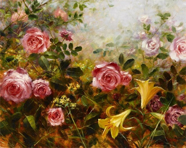 «Картины маслом Цветы» коллекция пользователя Подарки в Яндекс. Коллекциях