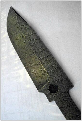 Заготовка ножа из булатной стали