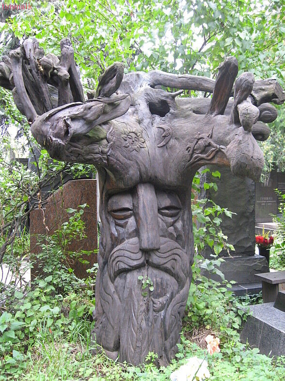 Надгробье Александра Роу (Новодевичье кладбище)