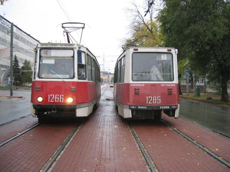 Челябинские трамваи