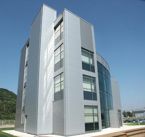 Это многоэтажное здание Astron MSB побеждает в конкурсе лучшее здание MSB по итогам квартала.  Больше ЛМК в России www.steelbuildings.ru