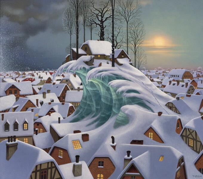 Яцек Йерка (англ. Jacek Yerka) - польский художник-иллюстратор.