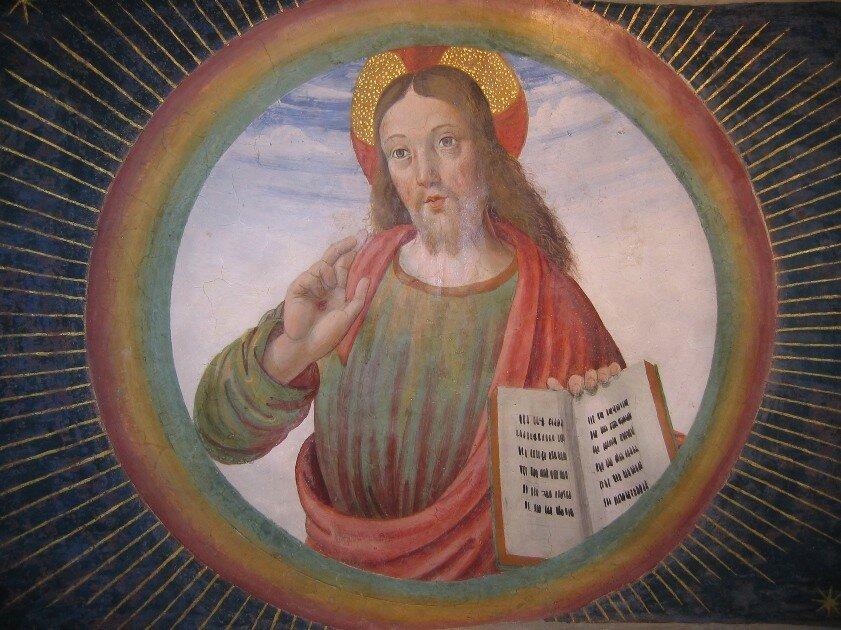 Cagli_-_Cappella_Tiranni_-_Cristo_in_gloria_benedicente_-_Sottarco_-.jpg