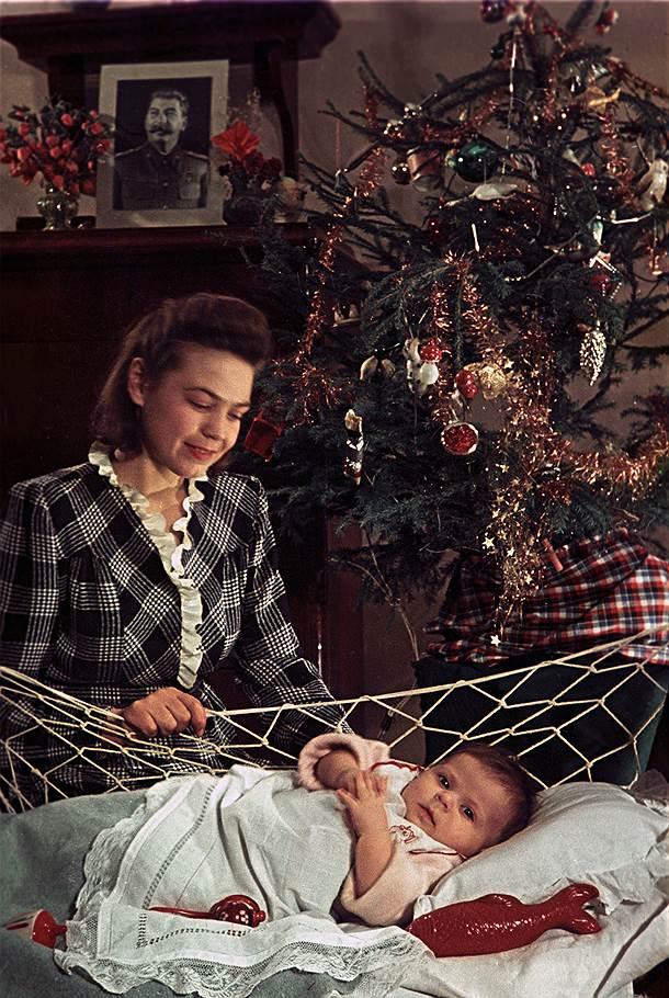 1951 Первый Новый год малыша О. Кнорринг2.jpg