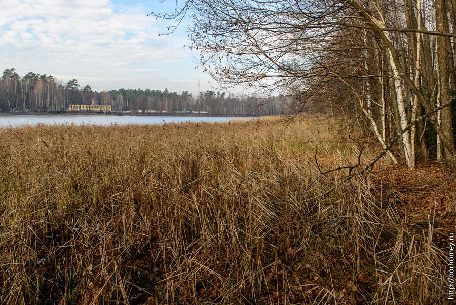 озеро по дороге на КПП-5
