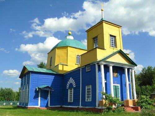 Казанский храм, Казачья Лисица