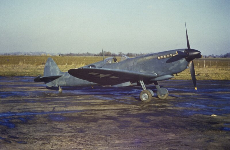 Spitfire Mark XI of the 7th Photographic Reconnaissance Group at Mount Farm