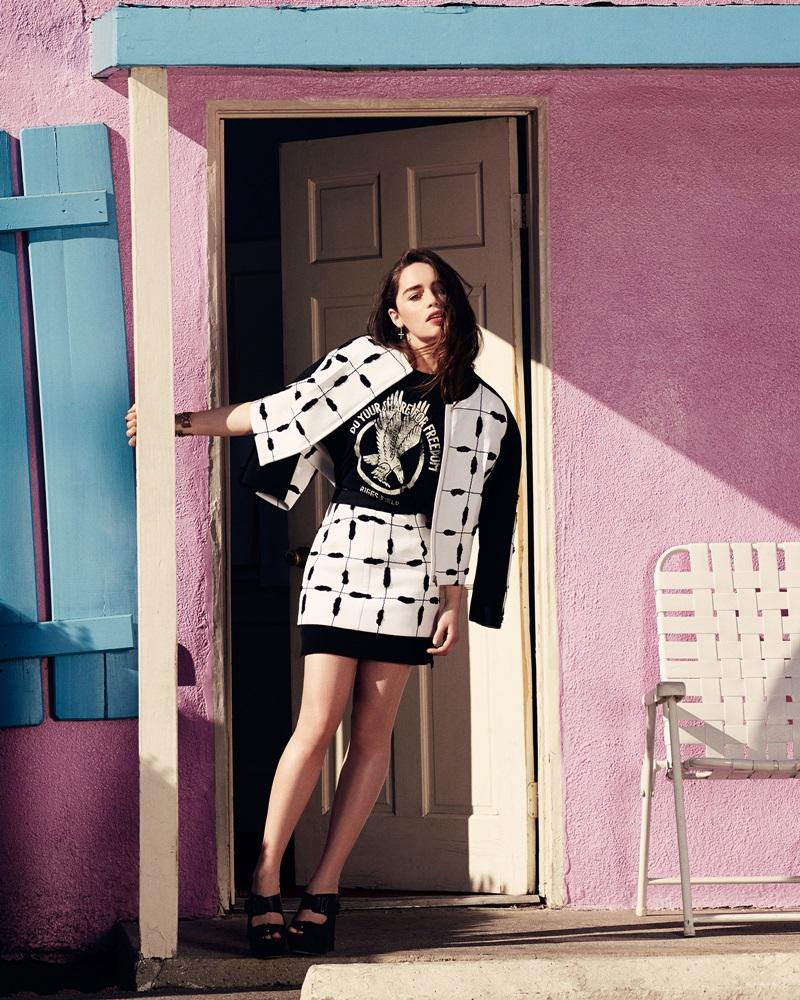 Фотографии Эмилии Кларк для журнала Glamour