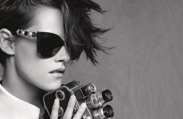 Кристен Стюарт (Kristen Stewart) в рекламной фотосессии для Chanel (7 фото)