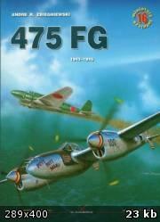 Книга Kagero Miniatury Lotnicze 16_475 FG 1943-1945 (P-38 on Pacific ocean)