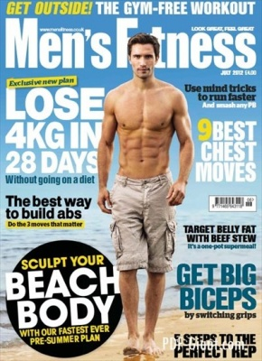 Журнал Журнал Mens Fitness Magazine UK July 2012