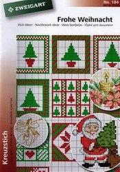 Книга Zweigart Stick-Ideen: Frohe Weihnacht №184