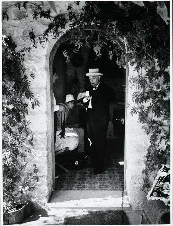 1966. Брассай в Эзе