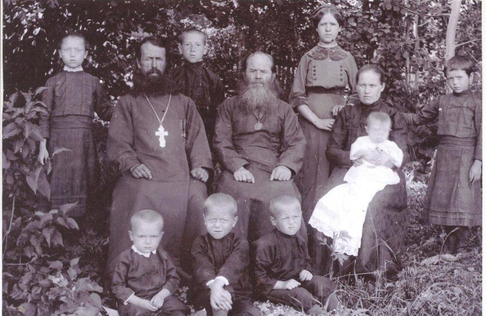 Семья священника Виталия Шевелева, с.Токтайбеляк