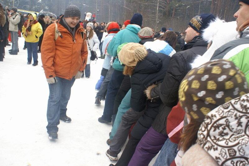 """Масляница от Рождественки. 2009 г. """"Змея"""""""