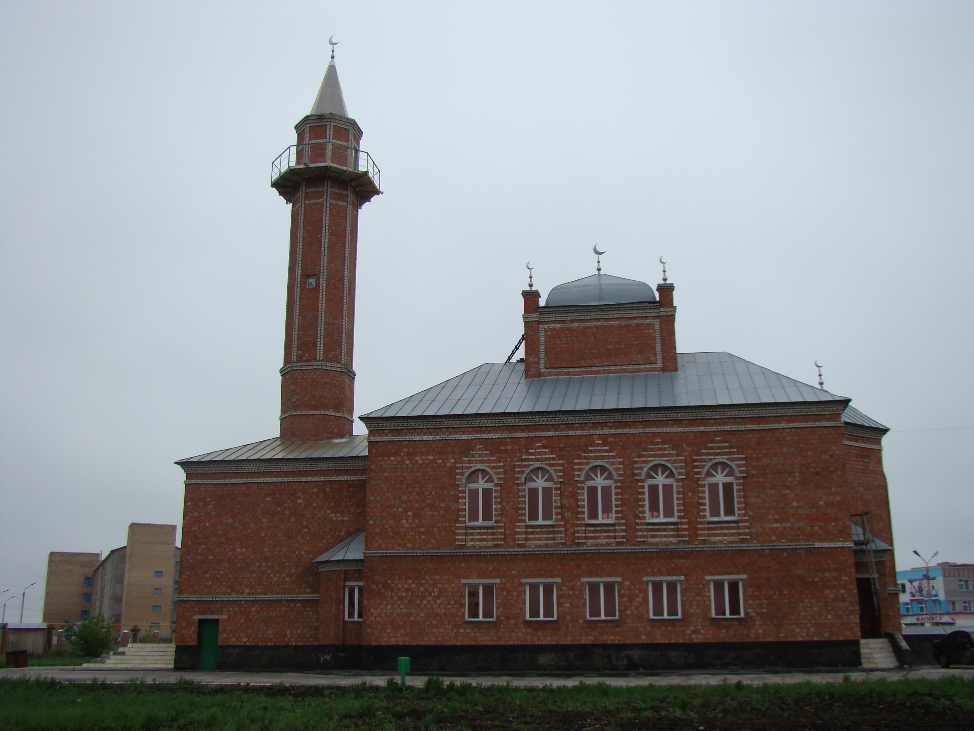 мечеть г.Сибай Башкортостан