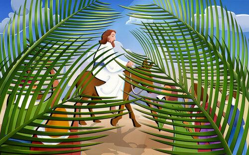 Въезд Иисуса в Иерусалим