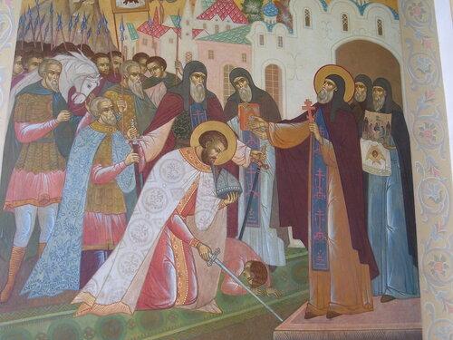 Благословение Дмитрия Донского Сергием Радонежским на победу*