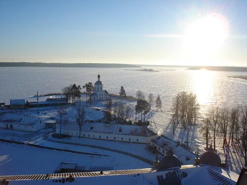 Как прекрасен Селигер зимой!