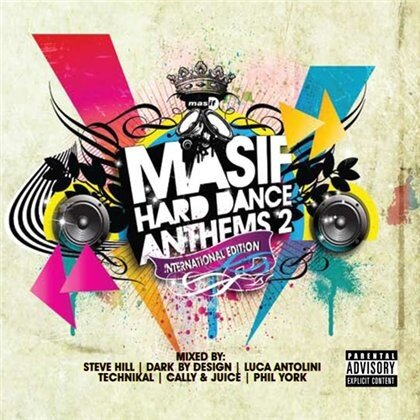 Masif Hard Dance Anthems 2 (3CD) 2008