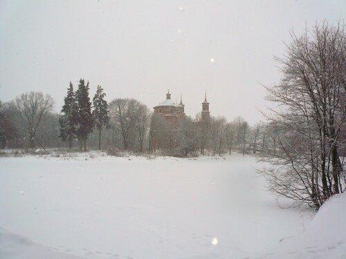 Владимирская церковь XVIII век