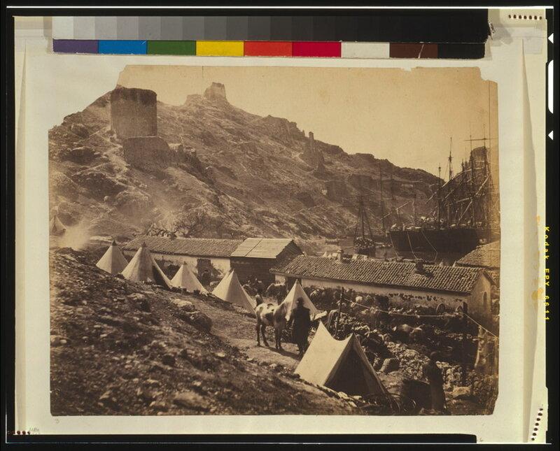Старые генуэзские крепости в Балаклаве