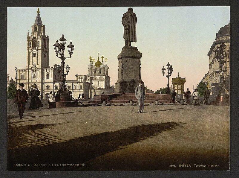 Москва, Тверская площадь