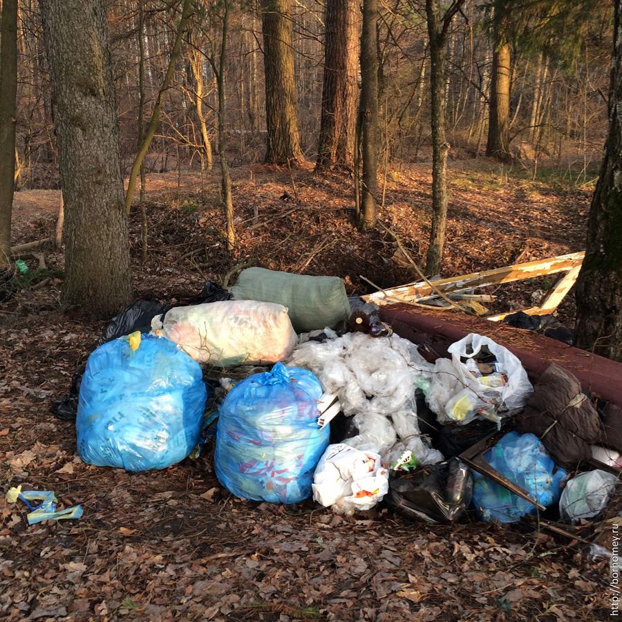 мусор на кремешках