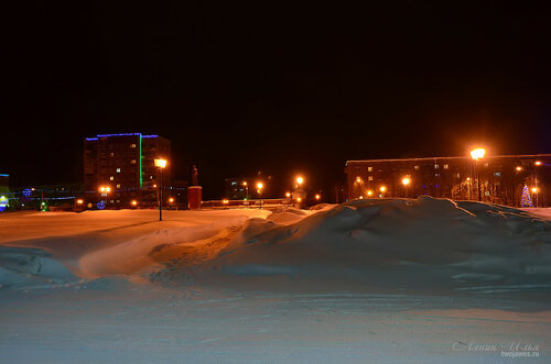 Фото города Инта №7434  Дзержинского 23 и 29 18.01.2015_16:32