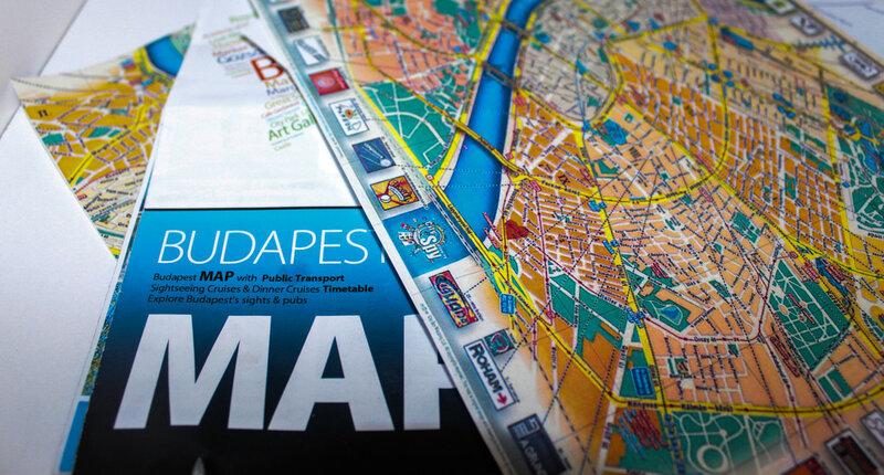 Карта Будапешта для туристов