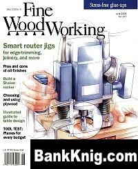 Журнал Fine Woodworking №177 June 2005