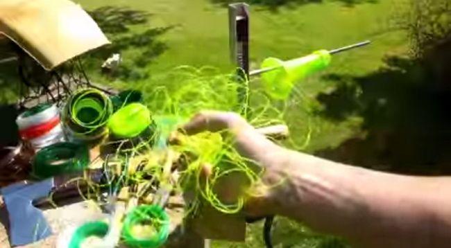 Веревка из пластиковой бутылки. Производство и применение