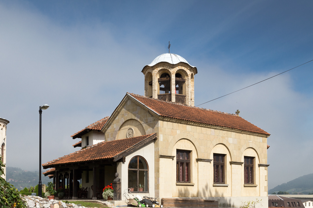 Дом настоятеля храма в Ариле