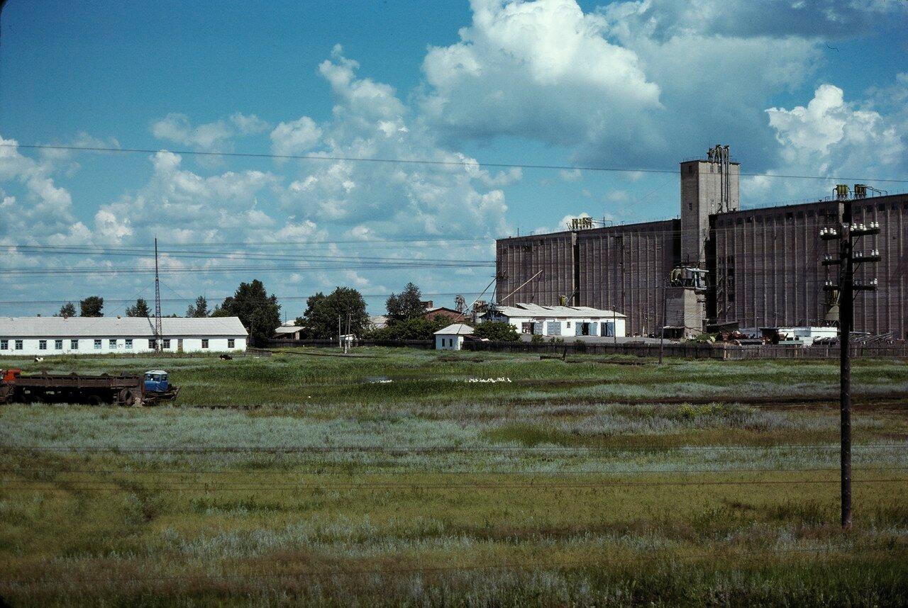 Барабинская степь. Зернохранилище