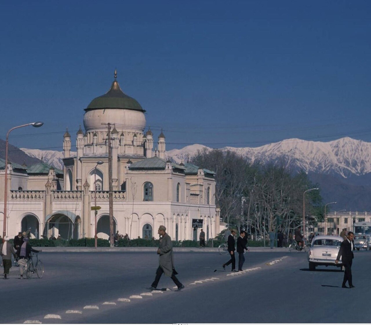 Кабул. Мавзолей Амира Абдур Рахмана