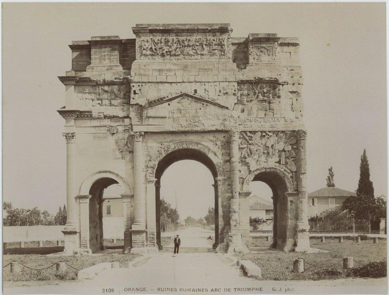 Триумфальная арка 1890-е.