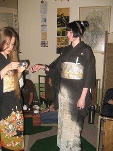 """кимоно на """"Чайной Высоте"""" 7 апреля"""