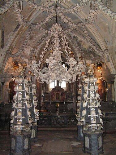 Интерьер костела в Кутной Горе (Чехия)