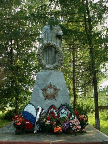 Памятник с семейный Варнавино Мемориальный комплекс с барельефом в человеческий рост Белый