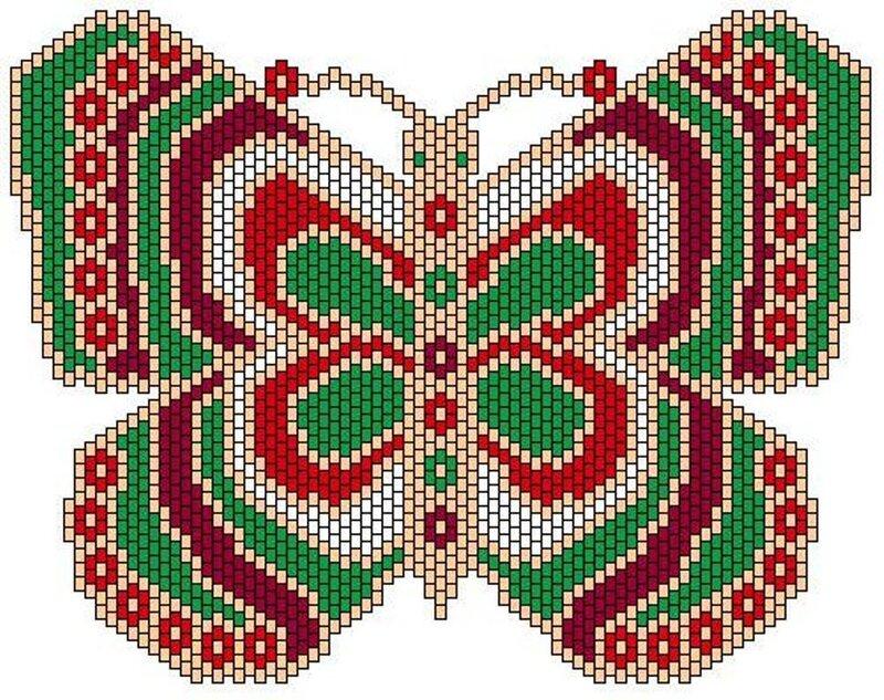 Схемы для бабочки.