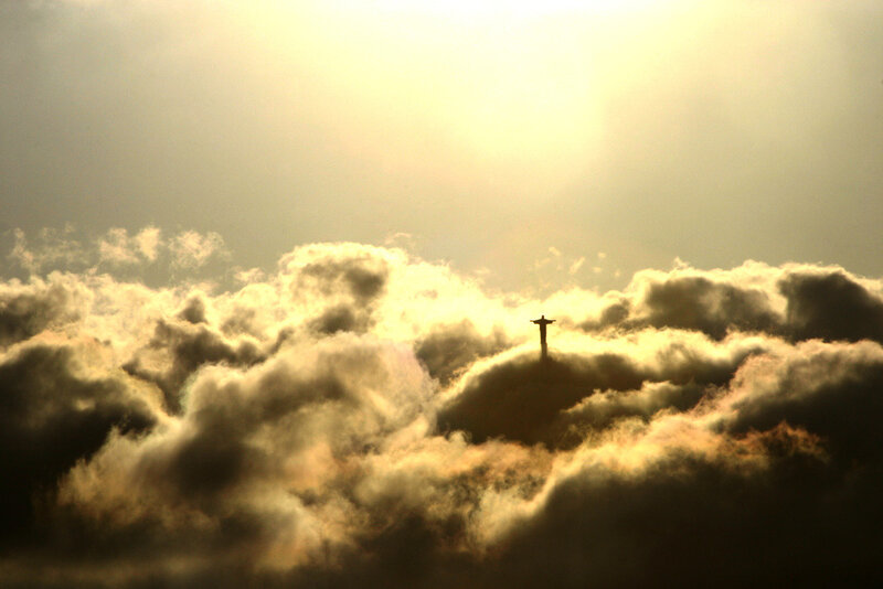 Иисус в облаках