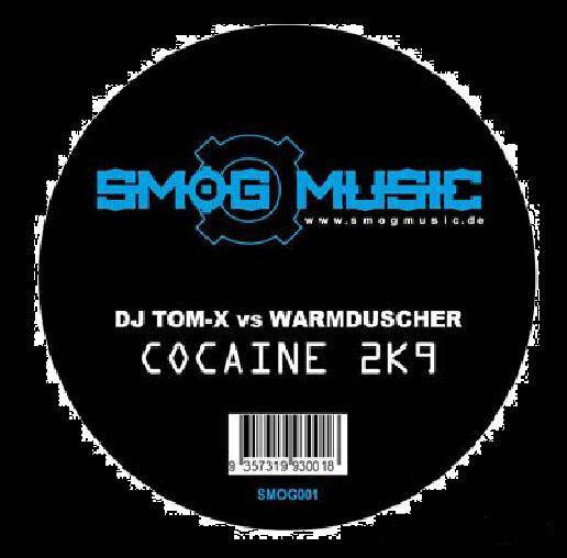 DJ Tom-X Vs Warmduscher - Cocaine 2k9 (Vinyl)