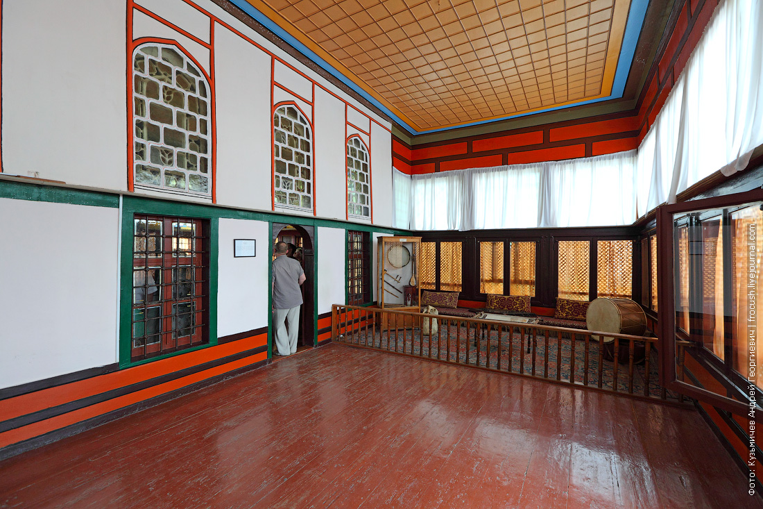 Беседка гарема Крым Бахчисарай Ханский дворец