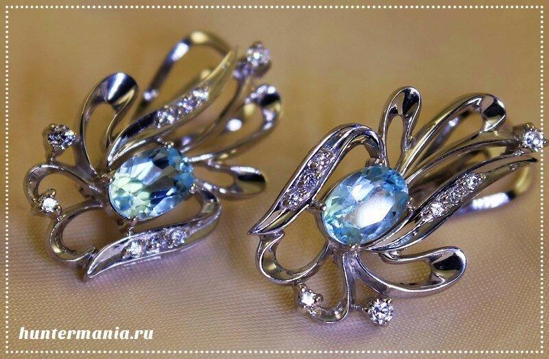 Удивительные топазы в роскошных ювелирных украшениях